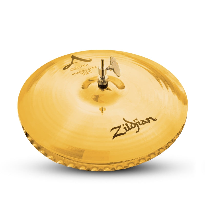 "Zildjian 15"" A CUSTOM Mastersound Hi-Hat Cymbal Bottom"