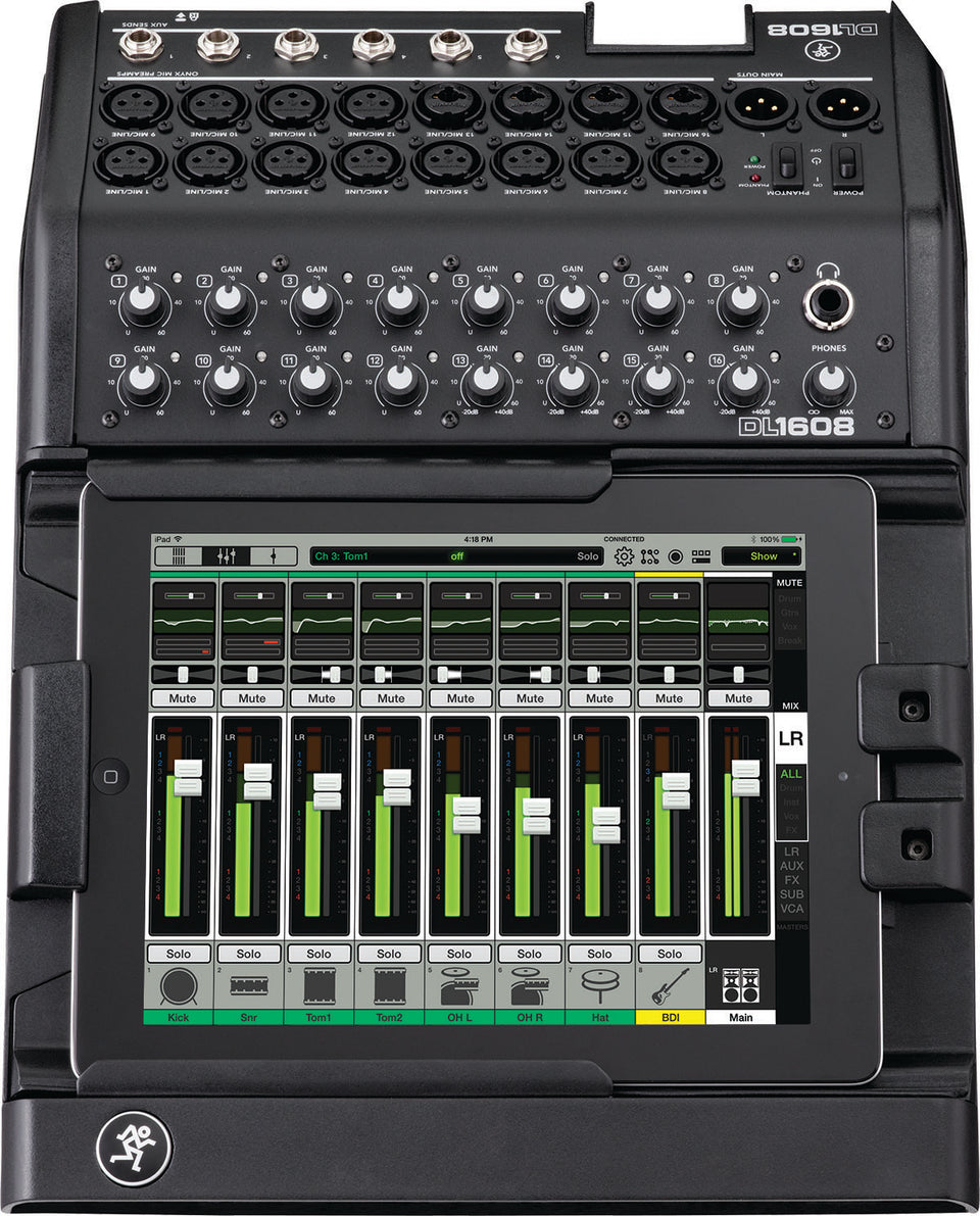 Mackie DL1608 Digital Live Sound Mixer