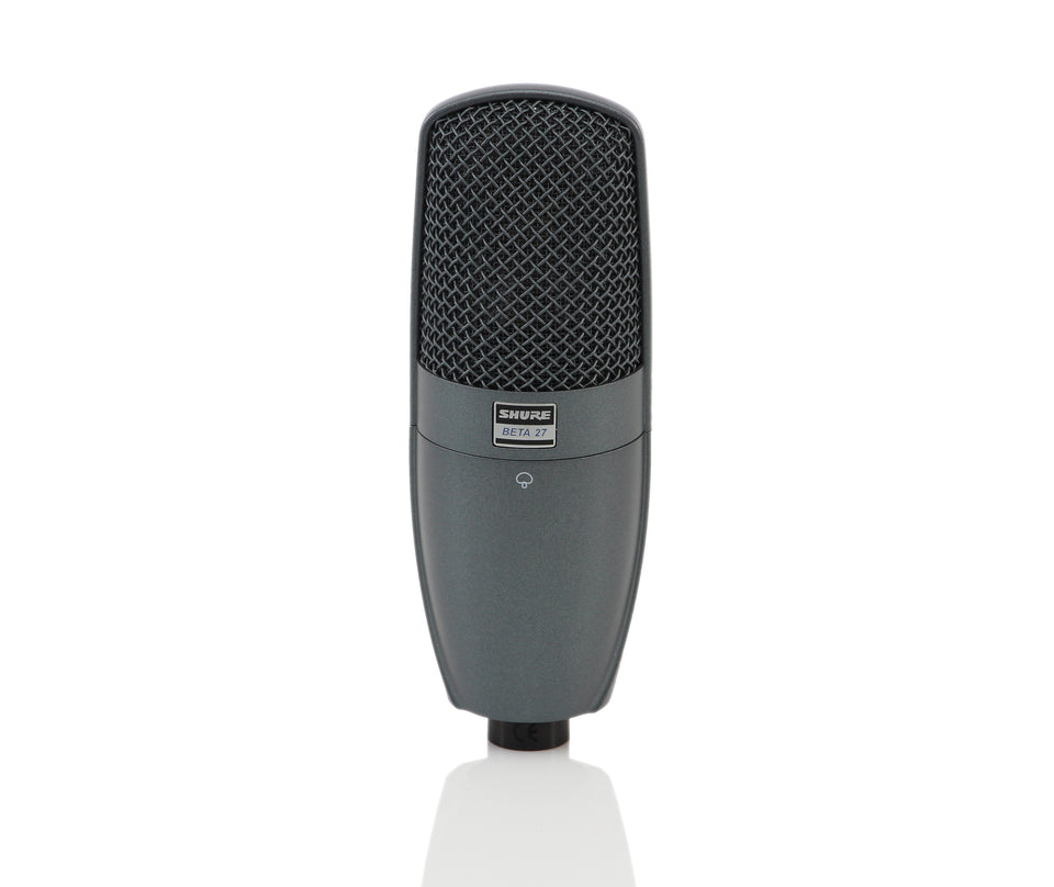 Shure BETA 27 Large Diaphragm Side Address Instrument Microphone