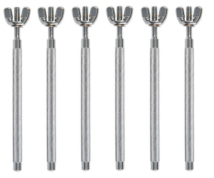 LP LP765 Percussion Table 3/8-Inch Mounting Rods, 6-Pack