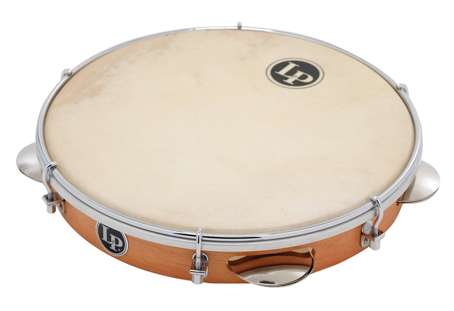 LP LP3010N Brazilian Wood Pandeiro With Natural Head