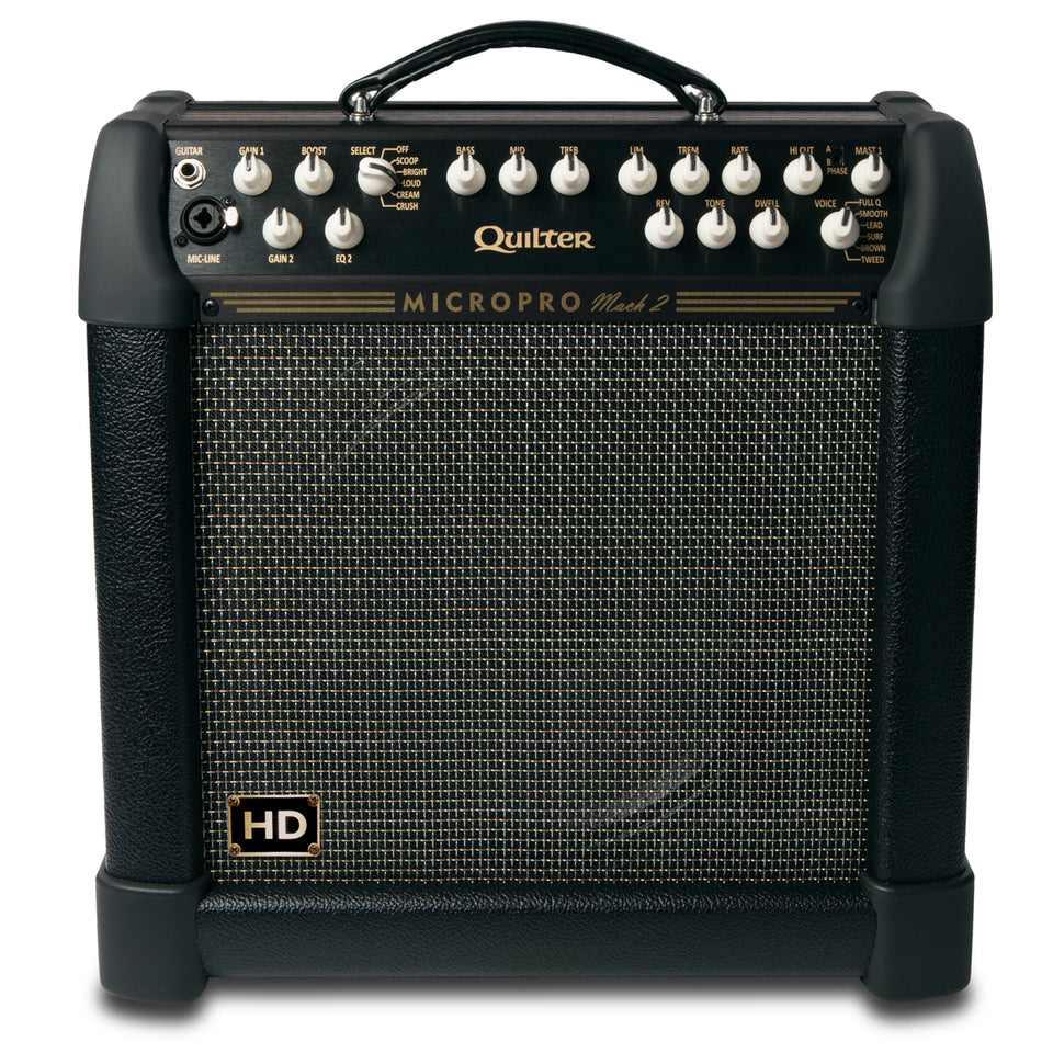 Quilter MicroPro Mach 2 100/200w Heavy Duty Guitar Combo - Celestion 12""