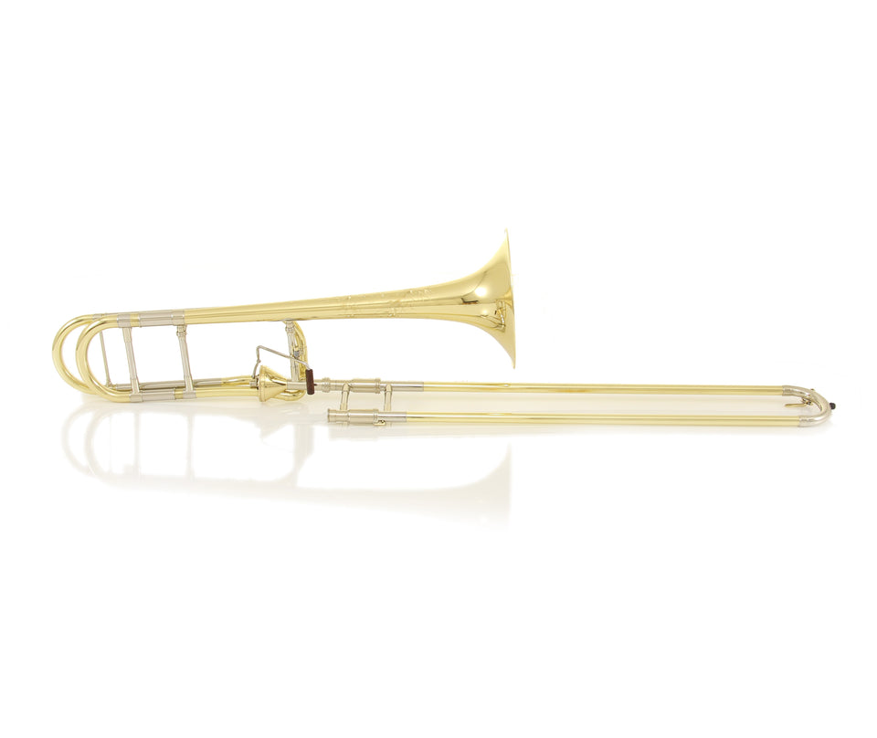 S.E. Shires TBVNYA Vintage New York Tenor Trombone W/ Axial-Flow F Attachment - Yellow Brass