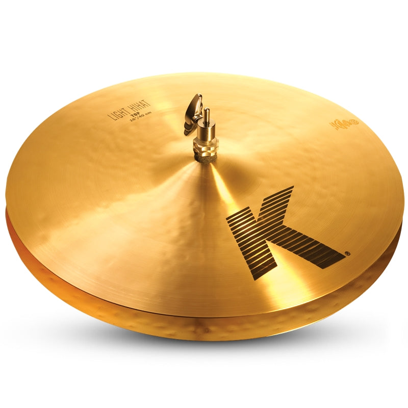 "Zildjian 16"" K Light Hi-Hat Cymbal - Top"