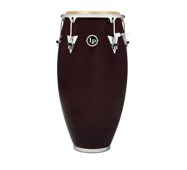 LP LP552X-DW Classic Series Wood Tumba, 12 1/2-Inch, Wine Red/Chrome