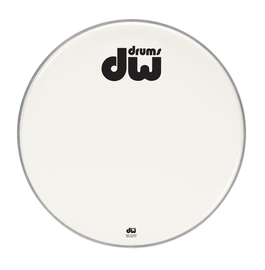 Drum Workshop DRDHAW22K 22-Inch Double A Coated Bass Drum Head