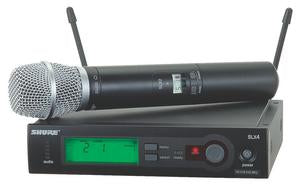 Shure SLX24/SM86 Wireless System With SM86 Condenser Microphone