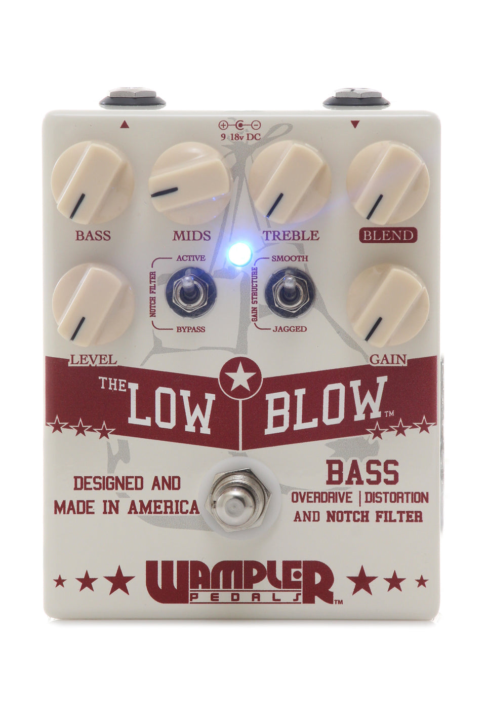 Wampler Low Blow Bass Overdrive/Distortion Pedal