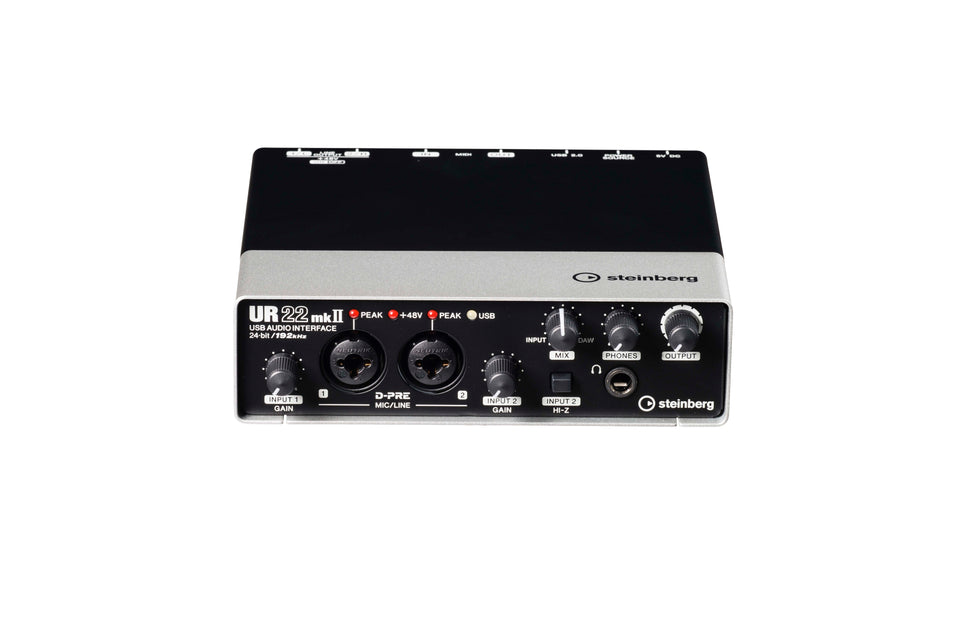Steinberg UR22MKII 2 X 2 USB 2.0 Audio Interface