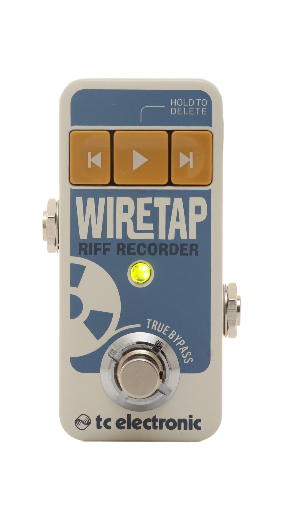 TC Electronic WireTap Riff Recorder Pedal - App Enabled