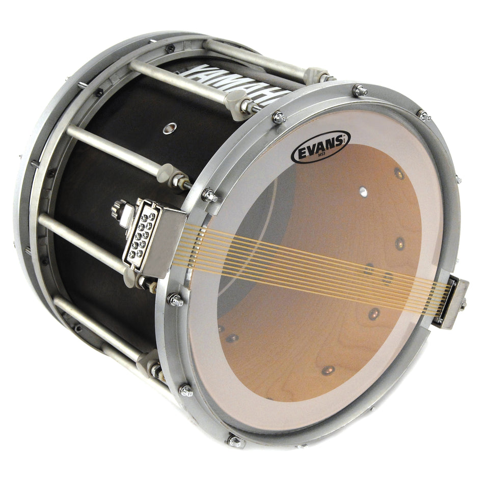 Evans MS3 Clear Marching Snare Side Drum Head