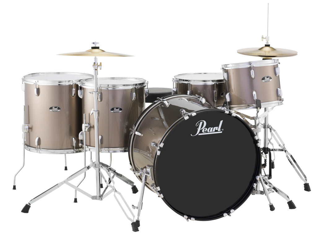 "Pearl Roadshow 1 Up 2 Down 22"" Kick Drum Set w/ Cymbals and Hardware"