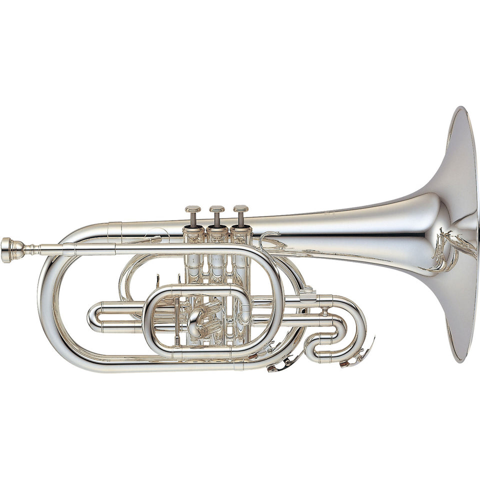 Yamaha YMP-204MS Marching Mellophone