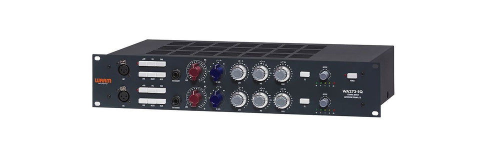 Warm Audio WA723-EQ 2 Channel British Mic Pre & EQ