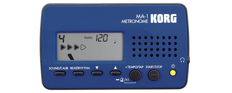Korg MA-1 Visual Beat Counting Metronome - Blue