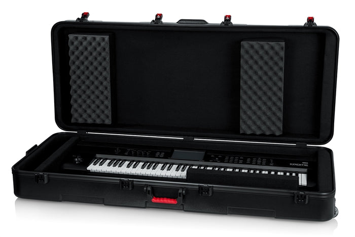 Gator GTSA-KEY76D TSA ATA Deep 76-note Keyboard Case w/ Wheels