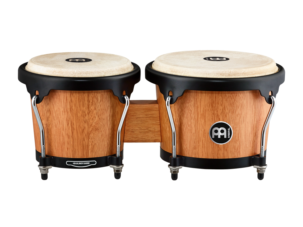Meinl Headliner Wood Bongos Natural
