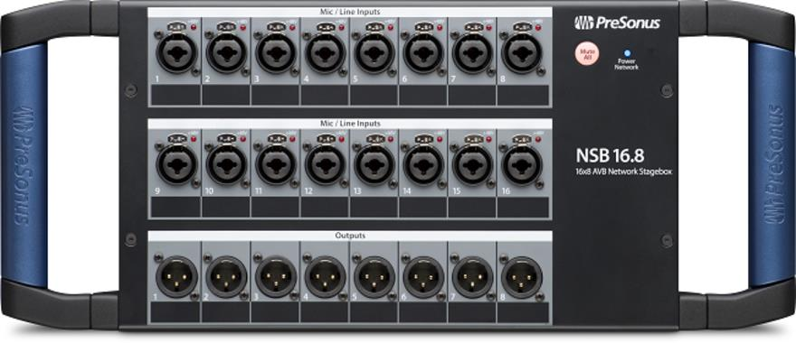 PreSonus NSB 16.8 16x8 AVB-Networked Stage Box