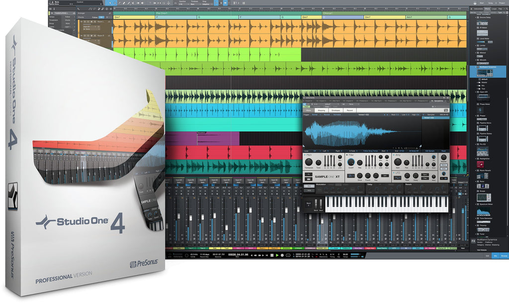 Presonus Studio One 4 Professional Upgrade From Professional/Producer (All Versions) Digital Software