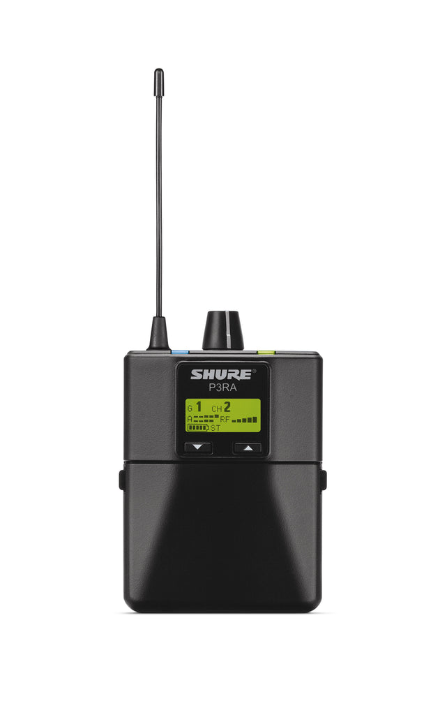 Shure P3RA G20 Professional Wireless Bodypack Receiver