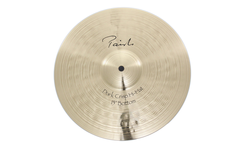 "Paiste 13"" Signature Dark Crisp Hi-Hat Bottom Cymbal"