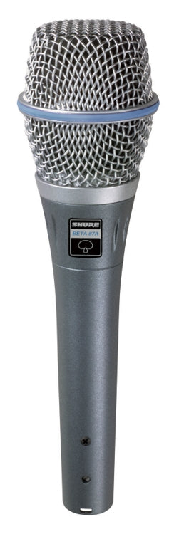 Shure BETA87A Supercardioid Handheld Condenser Vocal Microphone