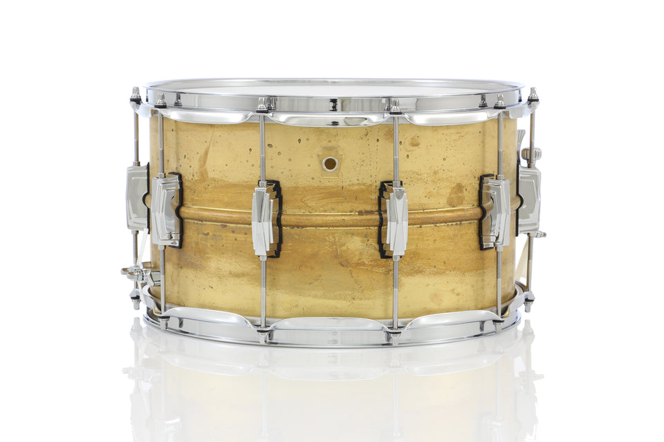"Ludwig 14"" x 8"" Raw Brass Snare Drum"