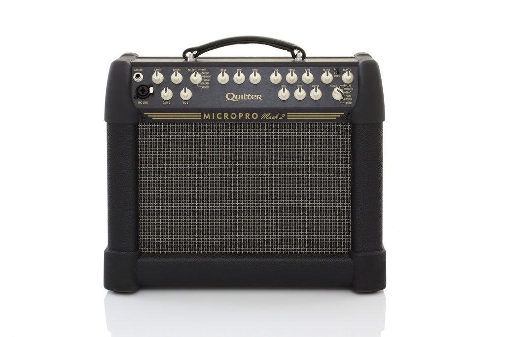 "Quilter MicroPro Mach 2 100/200w Guitar Combo Amp - 8"" High Power Driver"