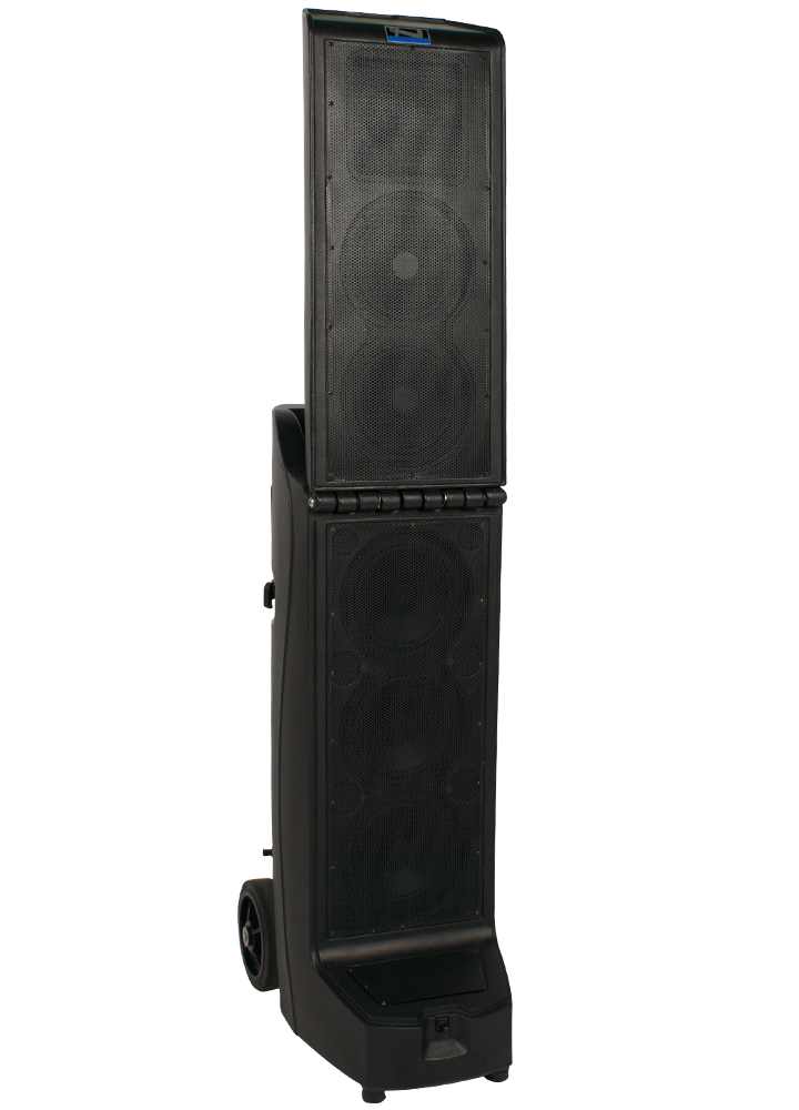 Anchor Audio Bigfoot Line Array with CD/MP3 Combo Player & ONE wireless receiver