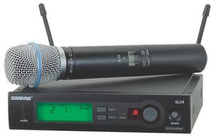 Shure SLX24/BETA87A Wireless System With Shure Beta 87A (supercardioid) Capsule