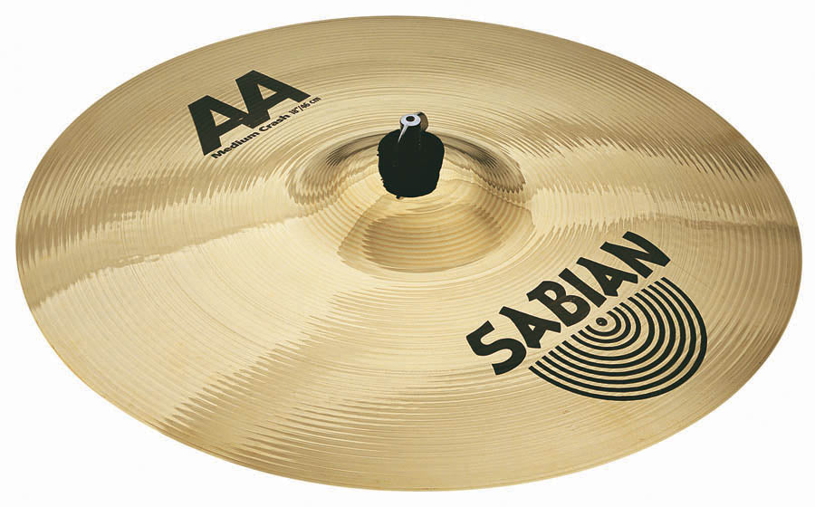 "Sabian 16"" AA Medium Crash Cymbal"