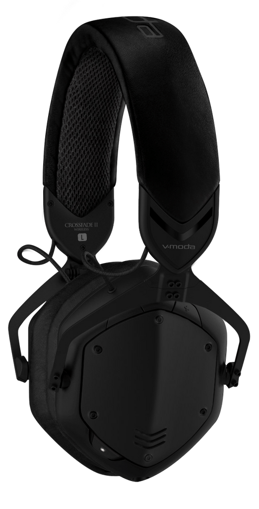 V-Moda Crossfade 2 Wireless BT Over-Ear Headphones - Matte Black