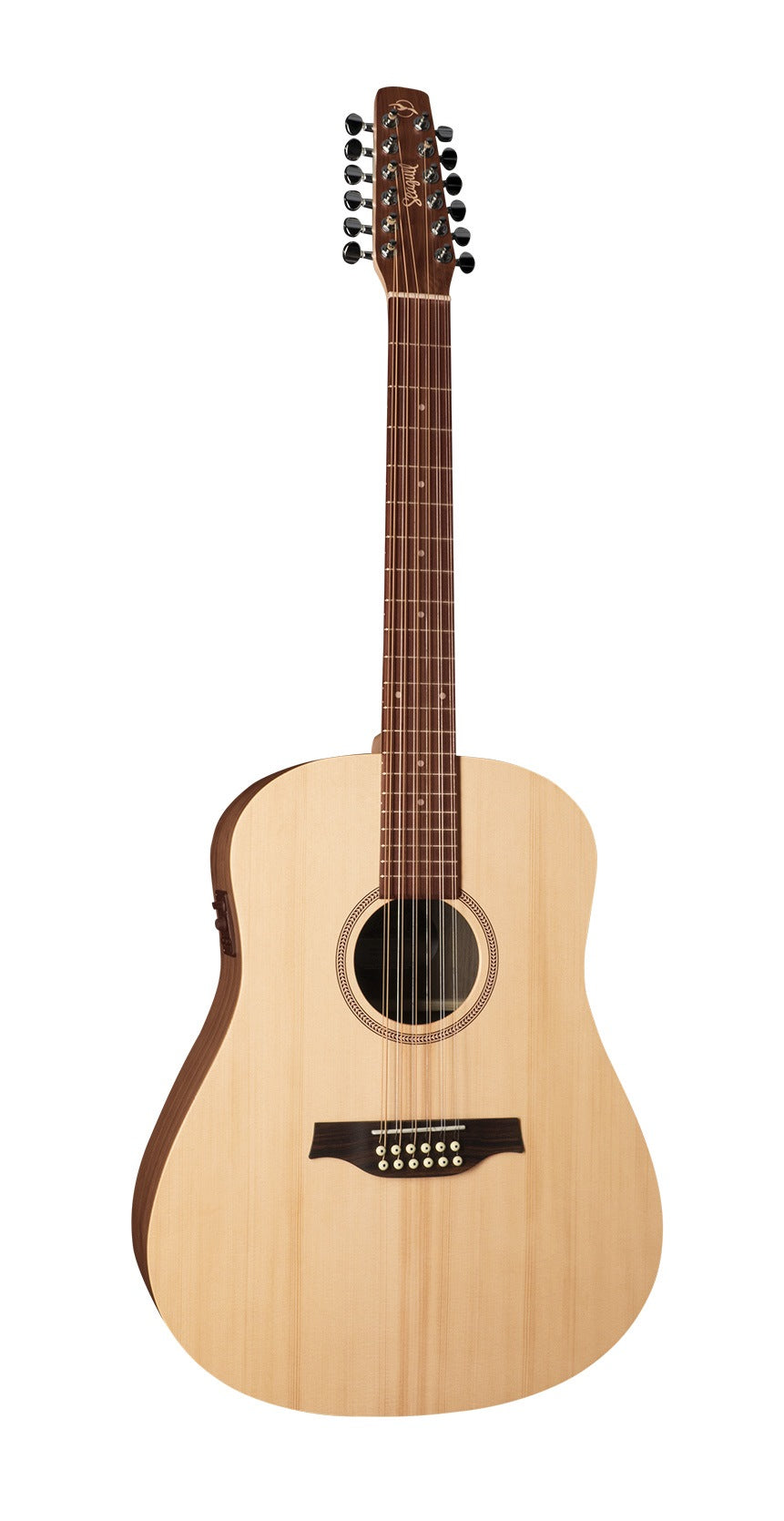 Seagull Walnut 12 Isys T 12 String Acoustic Electric Guitar