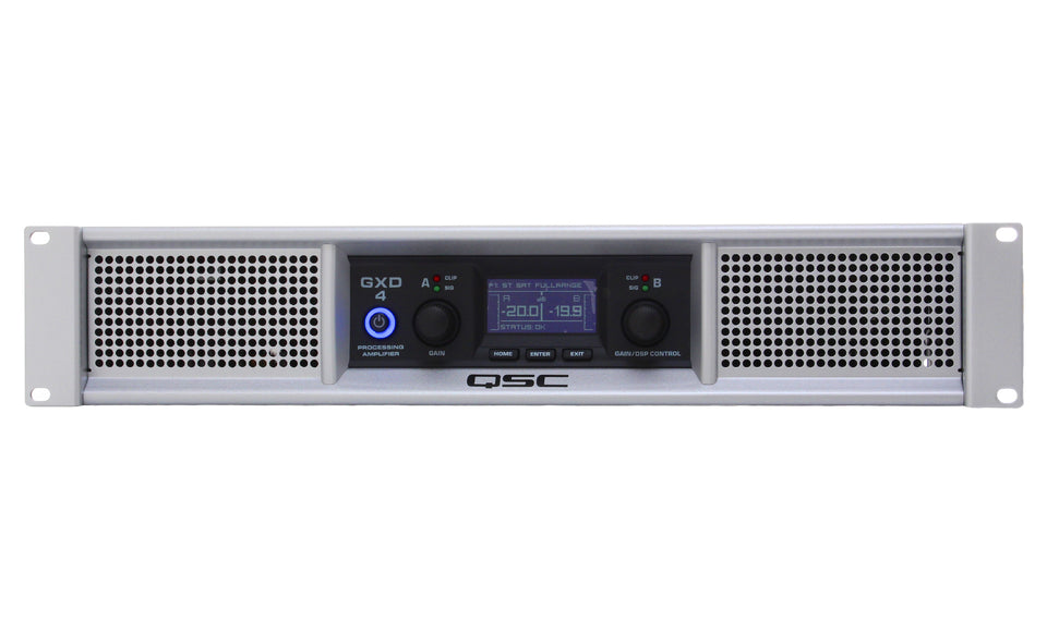 QSC GXD4 1600 Watt Power Amplifier