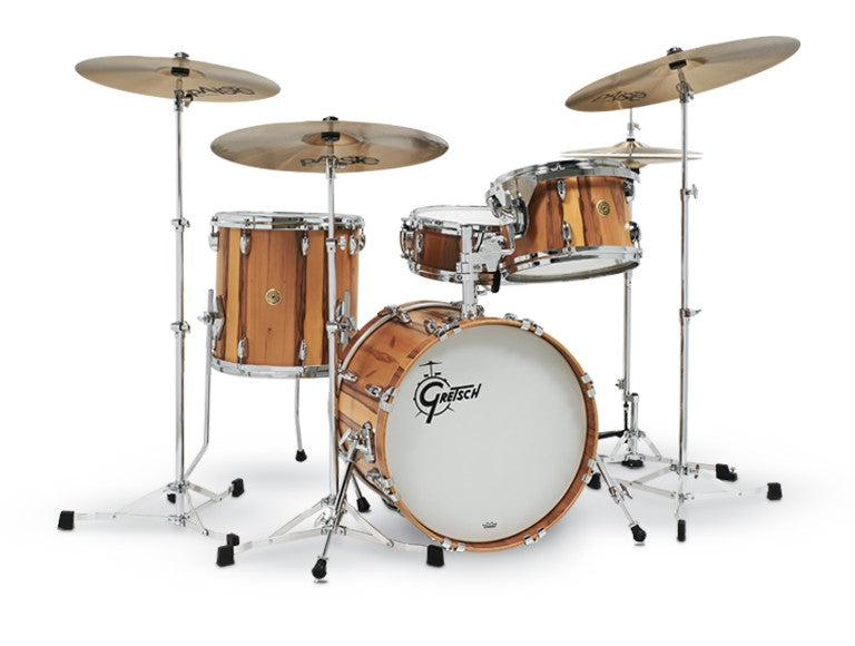 Gretsch USA Custom Limited Edition Drum Kit - Exotic Red Gum