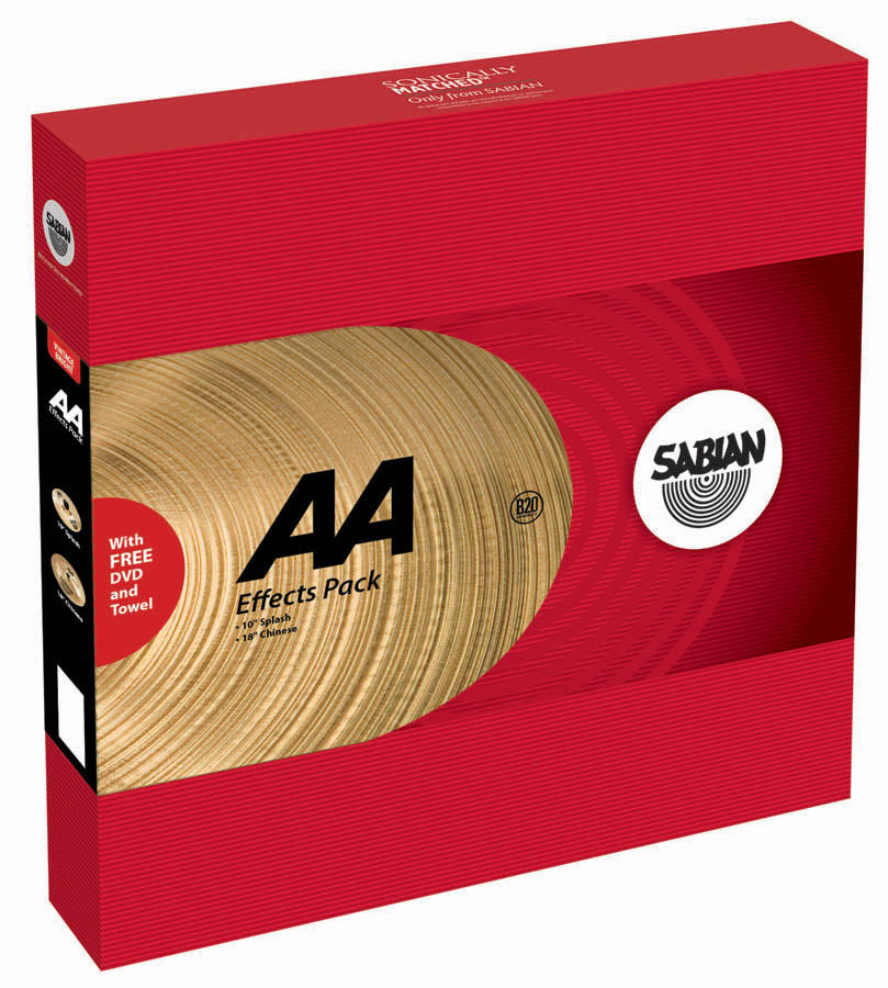 Sabian AA Effects Cymbal Pack