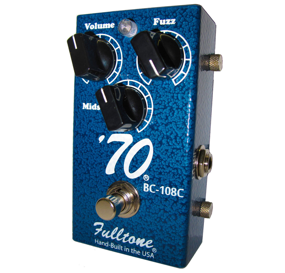 Fulltone 70-BC Fuzz Guitar Effects Pedal