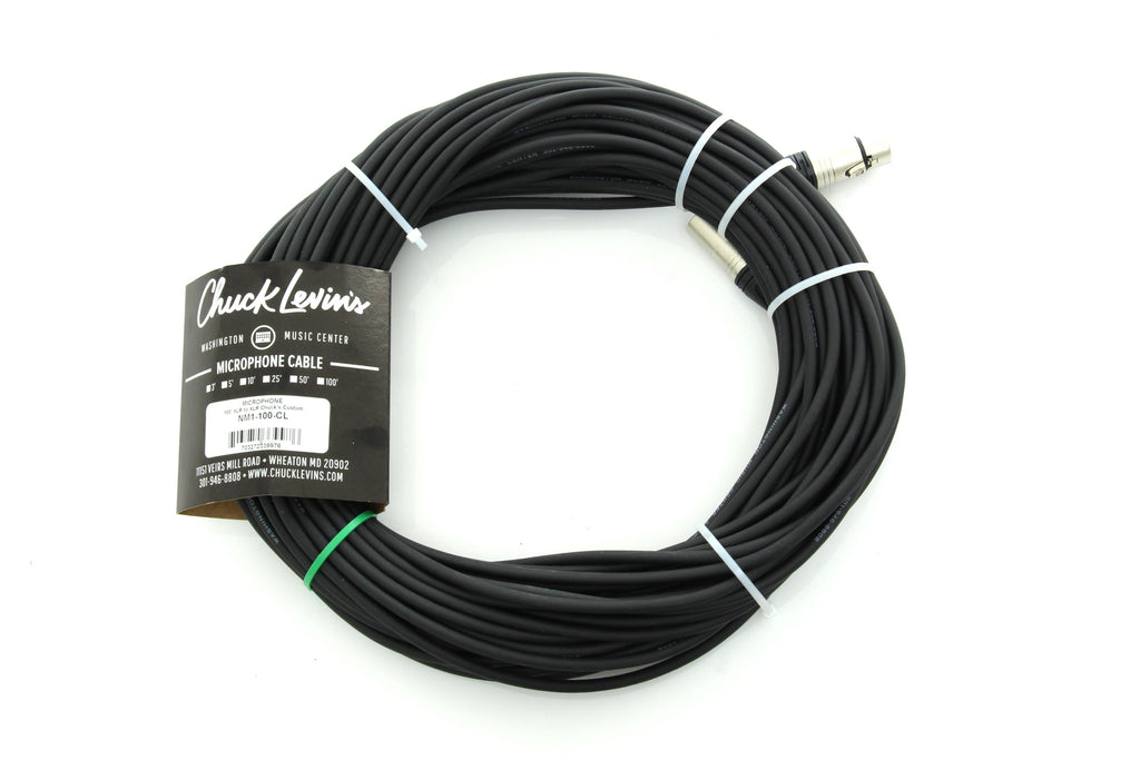 Chuck Levin's Microphone Cable - 100ft