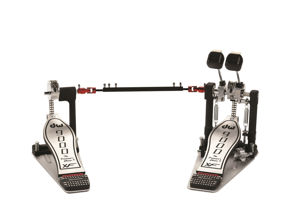 Drum Workshop DWCP9002XF 9000 Series Double Bass Pedal W/ Extended Footboard