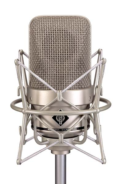 Neumann M 150 Omni Directional Tube Microphone W/ N149A Vintage, EA170, KT8 & Case - Nickel