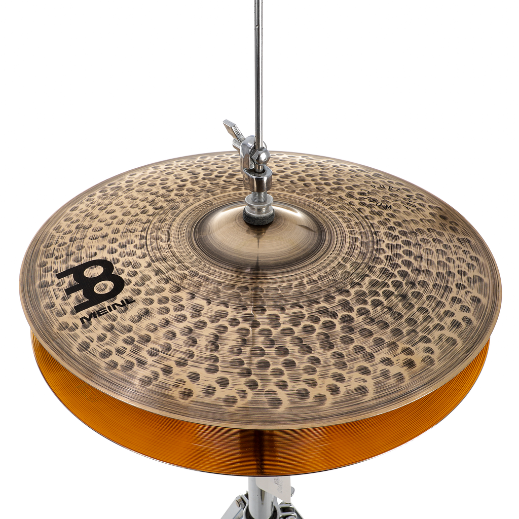"Meinl 15"" Pure Alloy Custom Medium Thin Hi-Hat Cymbals"