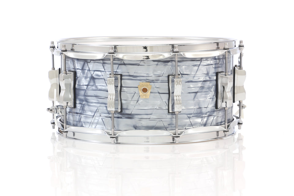 "Ludwig 14"" x 6.5"" Classic Maple Snare Drum - Sky Blue Pearl"
