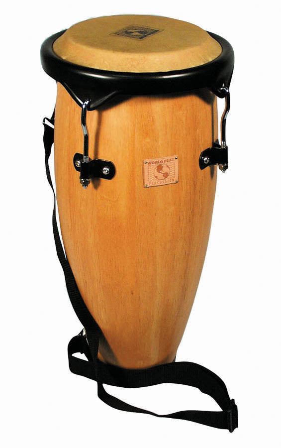"LP WB2040 World Beat Caribe Conga, 21"", Natural Wood/Black"