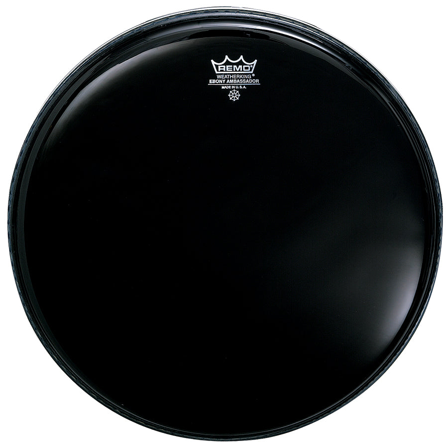 "Remo 20"" Ebony Ambassador Drum Head"