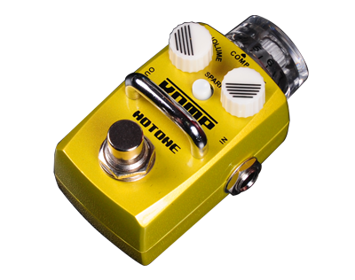 Hotone Skyline Series KOMP Optical Compressor Stomp Box