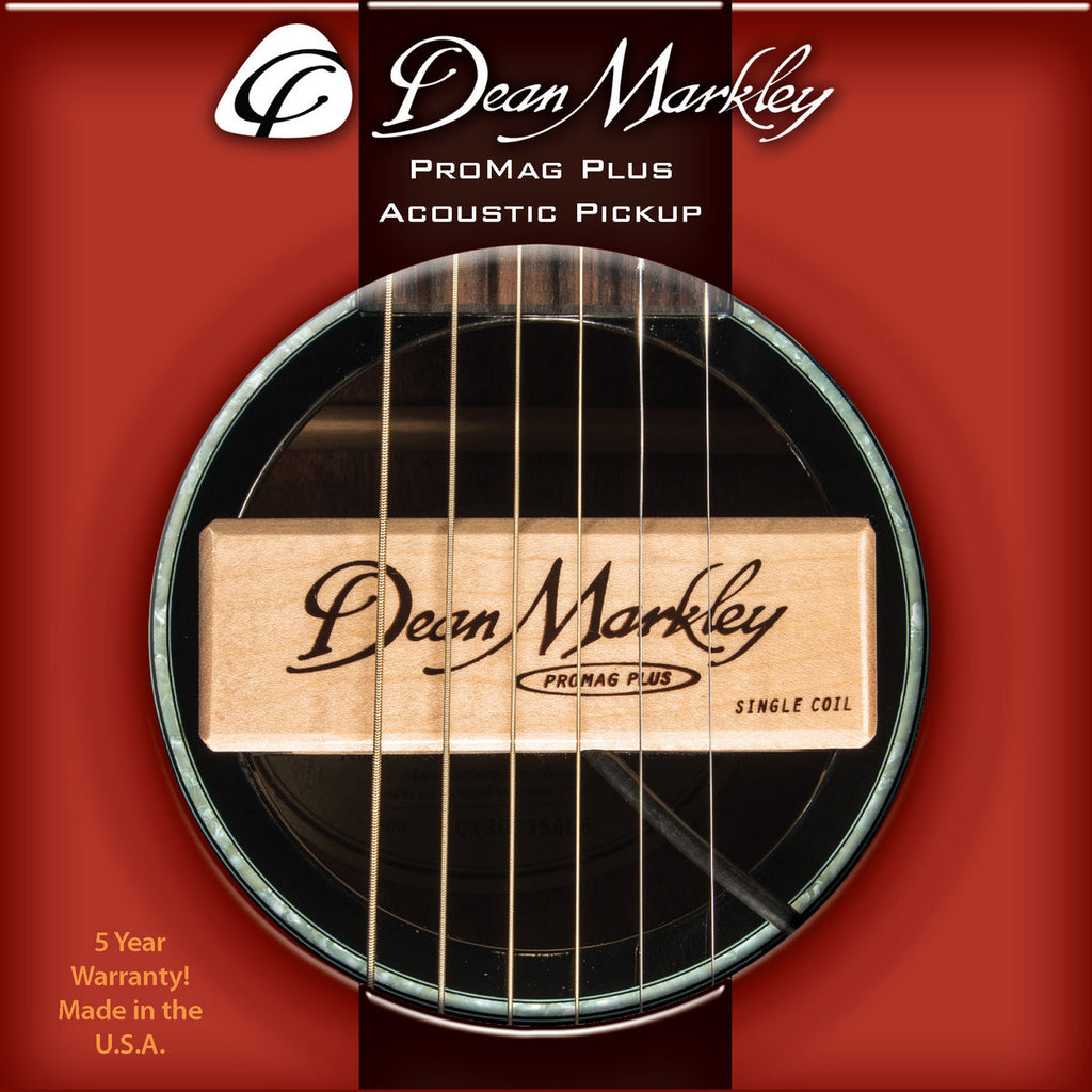Dean Markley DM3010 ProMag Plus Acoustic Pickup - Standard