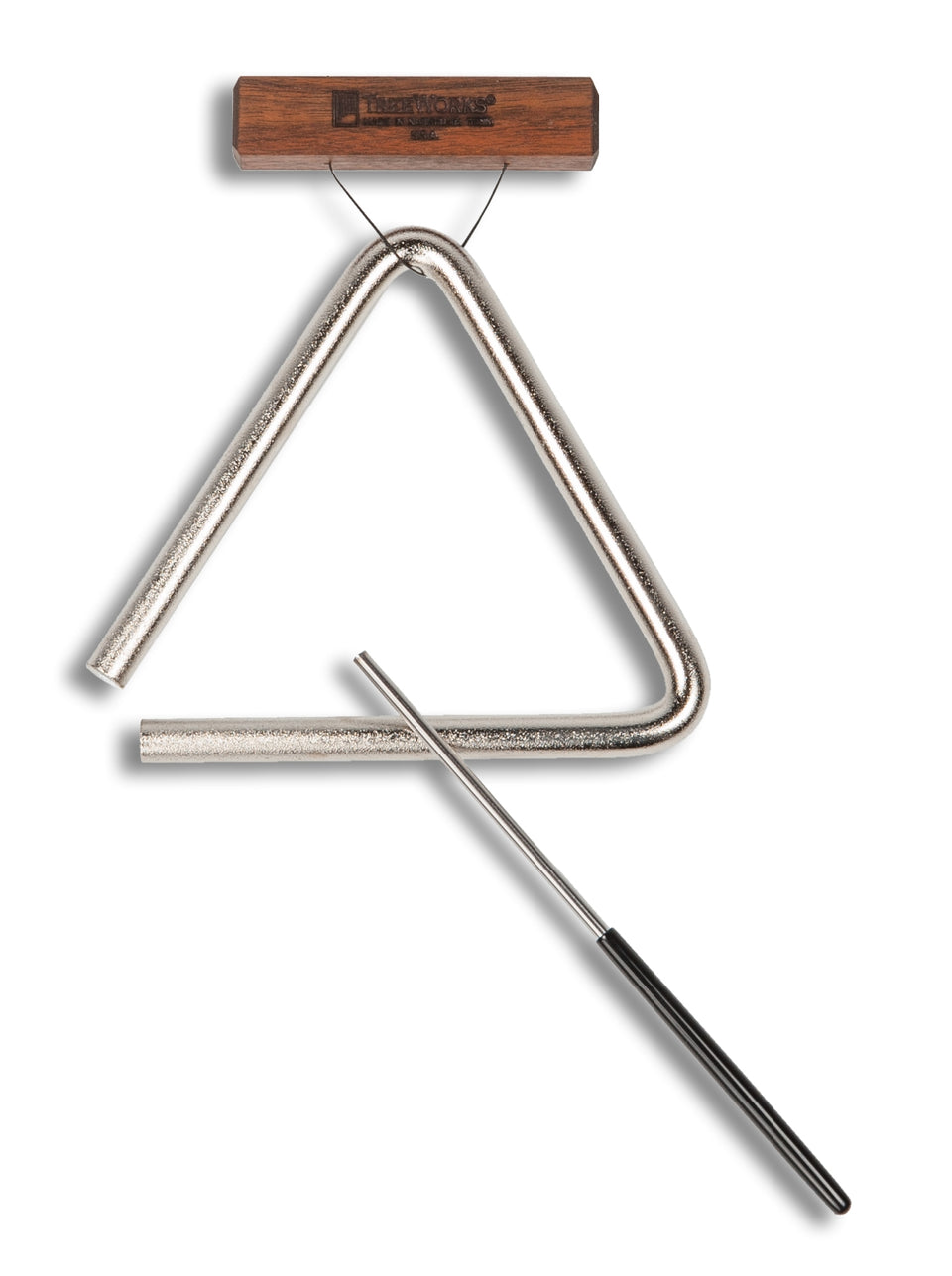 TreeWorks TRE-HS06 6-Inch Triangle W/ Beater/Striker & Holder