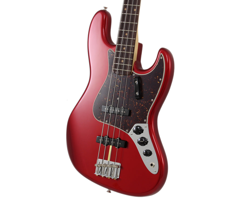 Fender American Original '60s RF Jazz Bass Guitar - Candy Apple Red