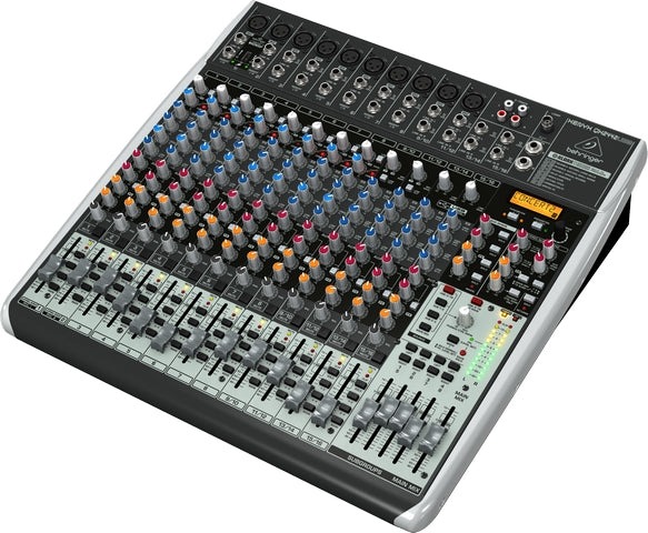 Behringer Xenyx QX2442USB 24-Input USB/Audio Interface Mixer