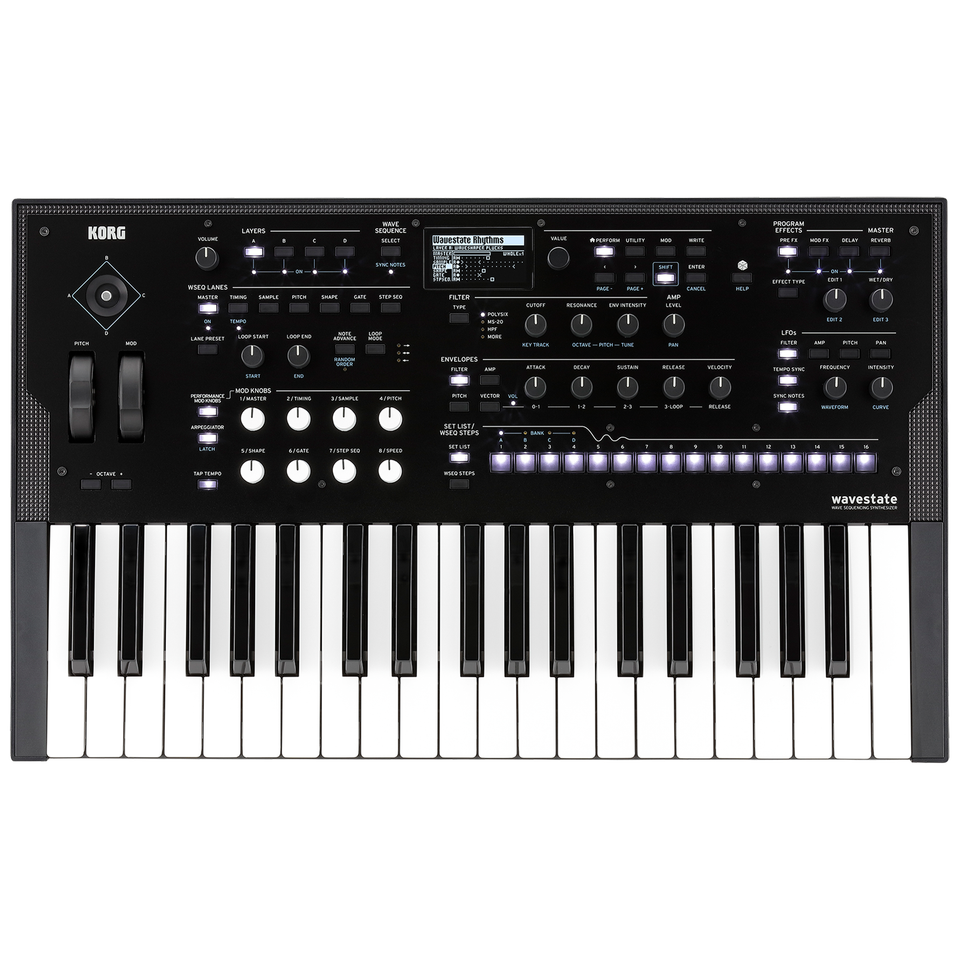 Korg Wavestate 37-Key Wave Sequencing Digital Synthesizer